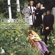 GROUNDHOGS - THANK CHRIST FOR THE GROUNDHOGS / LIBERTY YEARS - U.K. - (3) CD SET