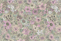 Lecien memoire a paris Quilting Cotton gray 82081490 fabric
