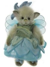 """Nightingale Mohair Minimo Pixie by Charlie Bears - 6.5"""" Mm195973A"""