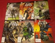 Black Panther 1-6 J Scott Campbell complete run set lot Shuri 2 3 4 5 2009