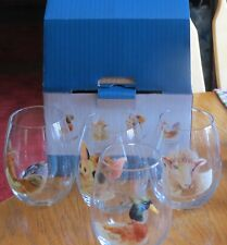 PIER 1 IMPORTS STEAMLESS GLASSES DUCK ROOSTER SHEEP PIG NIB