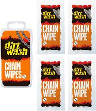 WELDTITE DIRTWASH BIKE CHAIN CLEANER SALVIETTE-confezione da 4