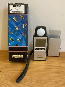 Martindale Light Meter LM82 Boxed Working Ship Worldwide