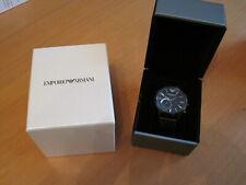 Emporio Armani Herren Analog Quarz Uhr mit Leder Armband ART3021/ Top mit OVP