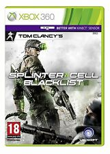 TOM CLANCY'S SPLINTER CELL BLACKLIST xbox 360 PAL GAME USED IN GOOD CONDITION