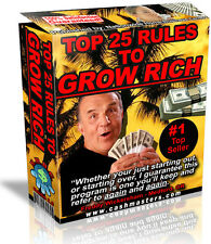 TOP 25 RULES TO GROW  RICH PDF EBOOK FREE SHIPPING RESALE RIGHTS