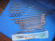 ORTHOPEDIC DRILL BITS AND AND PINS ASSORTED SIZES  ( LOT OF 23 ITEMS )