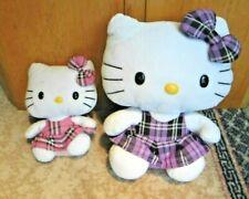 2 x Hello Kitty Ty Beanies