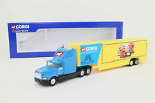 Corgi 56001; Ford Aeromax Artic Box Trailer, Corgi Roadshow; Excellent Boxed