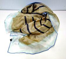 L@@K BCBG Maxazria Mixed Stripes 100% Silk Square Women's Scarf NWT Fall Autumn