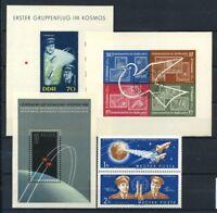 Espace 1962 Bloc Feuillet 100% Fusée, Popovich, paix
