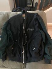 harley davidson jacket XL black W/ Green Sleeves