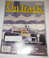On Track Magazine Piquet's Third World Title January 1988 080814R