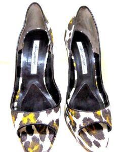 BRIAN ATWOOD Animal Print Heel Size 36