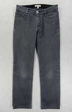 Burberry London Cotton/Poly Jeans (Womens Size 4) Gray