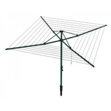 Hills Everyday Rotary 47 Washing Line Norfolk Pine Green (47m Clothes Line)