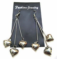 FASIONABLE TRENDY SILVER PLATED STYLISH DESIGNER HANGING EARRINGS DESIGN-C