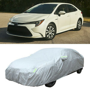 For Toyota Corolla 2008-2021 Car Cover Outdoor Waterproof All Weather Dust-Proof
