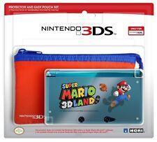 Protection rigide et pochette Super Mario 3D Land Nintendo 3DS Officiel Neuf
