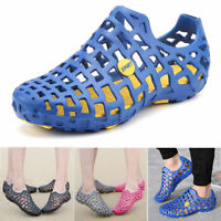 HOT Unisex Men Women Breathable Slippers Hollow-out Beach Sandals Hole Shoes CG