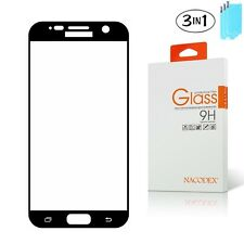 [3x] Nacodex Tempered Glass Full Cover Screen Protector For Samsung Galaxy S7