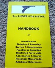 German 9mm Luger P-08  Pistol Collector Handbook 34 Pages