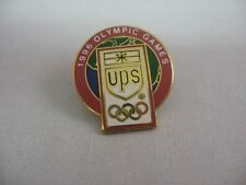 1996 Atlanta Olympic Games UPS Advertising Lapel Pin Pinback ~