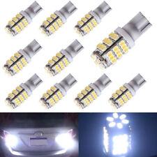 10pcs Pure White T10/921/194 RV Trailer 42-SMD Backup Reverse LED Lights Bulbs