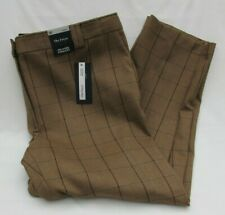 Checked Brown Straight Trousers for Women for sale   eBay