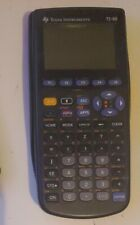 Texas Instruments TI-89 Graphing Calculator With New Batteries works excellent