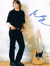 "Mike Stern 1953- genuine autograph 8""x10"" photo signed jazz guitarist"