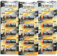 15 Pack 23A Battery A23 23AE MN21 RV08 L1028 Alkaline 12V RETAIL  FREE SHIPPING
