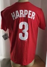 Bryce Harper 3 Philadelphia Phillies Jersey Shirt Mens Large MLB NWT