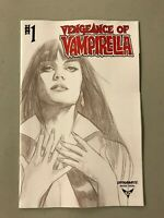 VENGEANCE of VAMPIRELLA 1 1:20 BEN OLIVER BLACK AND WHITE VARIANT Dynamite