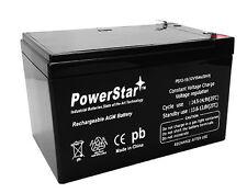 12V 12AH Sealed Lead Acid Battery for RBC4 RBC6 UB12120 D5775 BP1000 Scooter