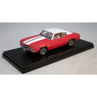 Chevy Chevelle SS 1970  Red, 1/43 Model Car. Resin Autoworld