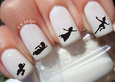 Peter Pan Nail Art Stickers Transfers Decals Set of 70