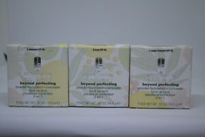 Clinique Beyond Perfecting Powder Foundation+Concealer 0.51oz/14.5g~choose yours