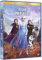 LA REINE DES NEIGES 2 DISNEY  DVD   NEUF SOUS CELLOPHANE