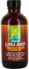 Extra Dark Jamaican Black Castor Oil, ISLAND TWIST, 4 oz