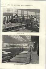 1921 Bolckow Vaughan Plate Mill Plant Mangle Cooling Cutting