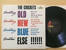 """THE CRICKETS """"SOMETHNG OLD NEW BLUE ELSE"""" ORIG 62 MONO LP LIBERTY W/INNER NM/NM"""