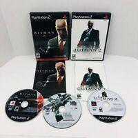 Hitman Blood Money & Silent Assassin Sony PlayStation 2 PS2 Lot
