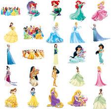 Disney Princesses, iron on T shirt transfer. Choose image and size