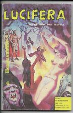 Lucifera N. 6 di 1972-z1-2 fumetti per adulti libro tascabile predone