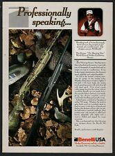 1999 BENELLI M1 Field Shotgun PRINT AD Collectible Gun Advertising