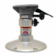 Springfield Boat Adjustable Height Seat Pedestal w/ Swivel |  Manual Adjust