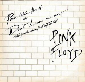 PINK FLOYD - Run Like Hell / Don't Leave Me Now - RARO 7'' / 45 giri 1980 USA