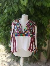 Handmade, hand embroidered Torbeslija blouse