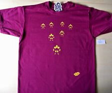Anni'80 stile WRESTLER T-SHIRT CLEM Wear Unique HAND posizionati in vinile M MEDIUM UOMO